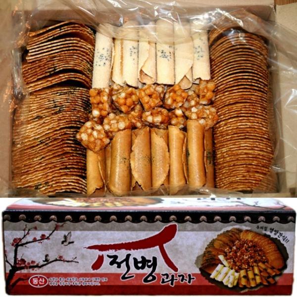 센베과자 삼베과자 전통과자 종합전병 5종 선물세트 1.5kg 1박스
