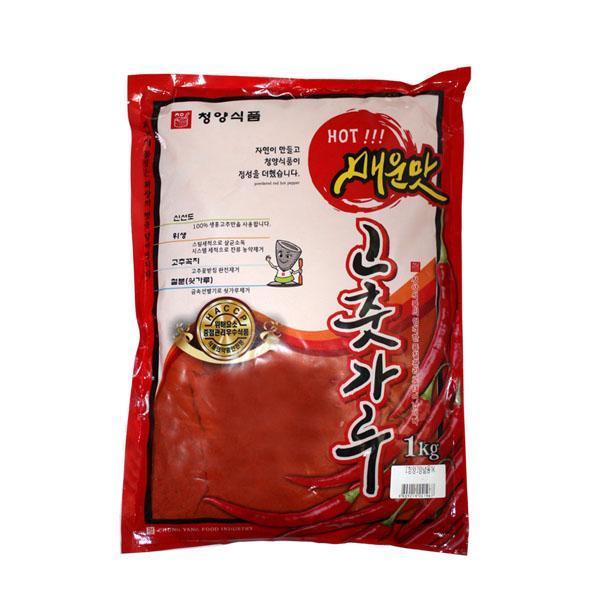 (무)(면)청양식품 고춧가루(미분-매운맛)1kgX10개