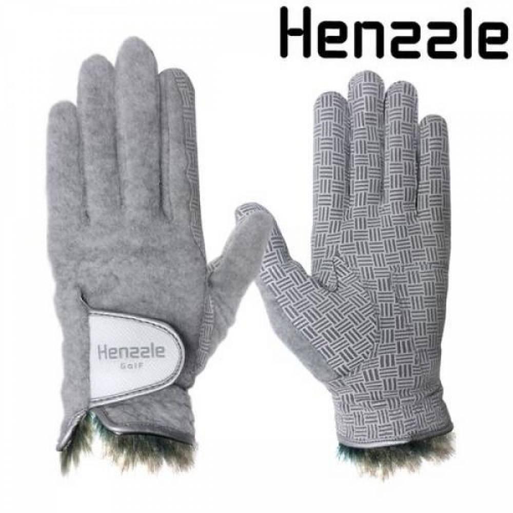 핸즐 동계 여성 골프장갑 겨울 보온 연습 필드 양손