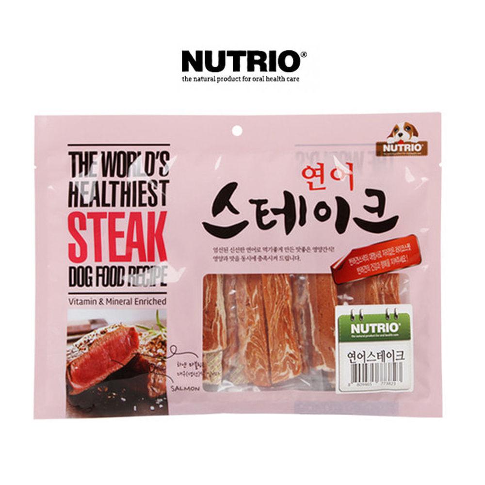 연어 스테이크 300g 개육포 애완용품 강아지 애완간식