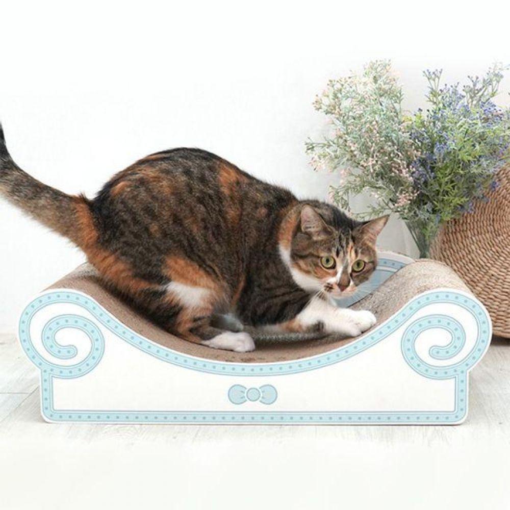 고양이 소파 스크래쳐 블루 캣 장난감 고양이 전용