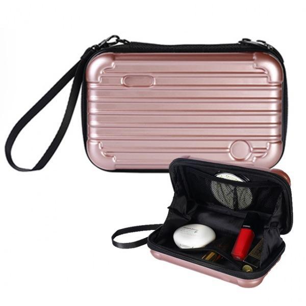 캐리어 파우치 여권 파우치 하드 화장품가방 다용도