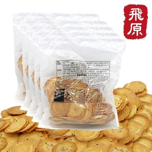 센베과자 삼베과자 두부 미니 전통과자 센베이 전병 옛날과자 5봉지