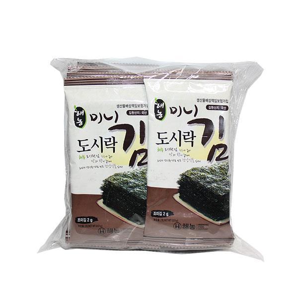 (무)해농미니도시락김(2gX10입)X24봉(1BOX)