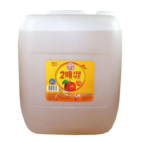 (무)오뚜기 2배사과식초(대)18LX1개