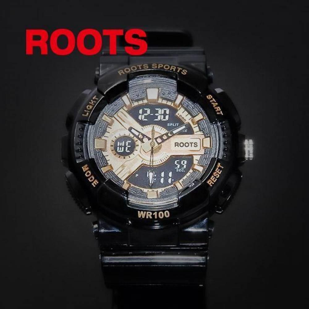 ROOTS 루츠 R8008_BKGL 손목시계