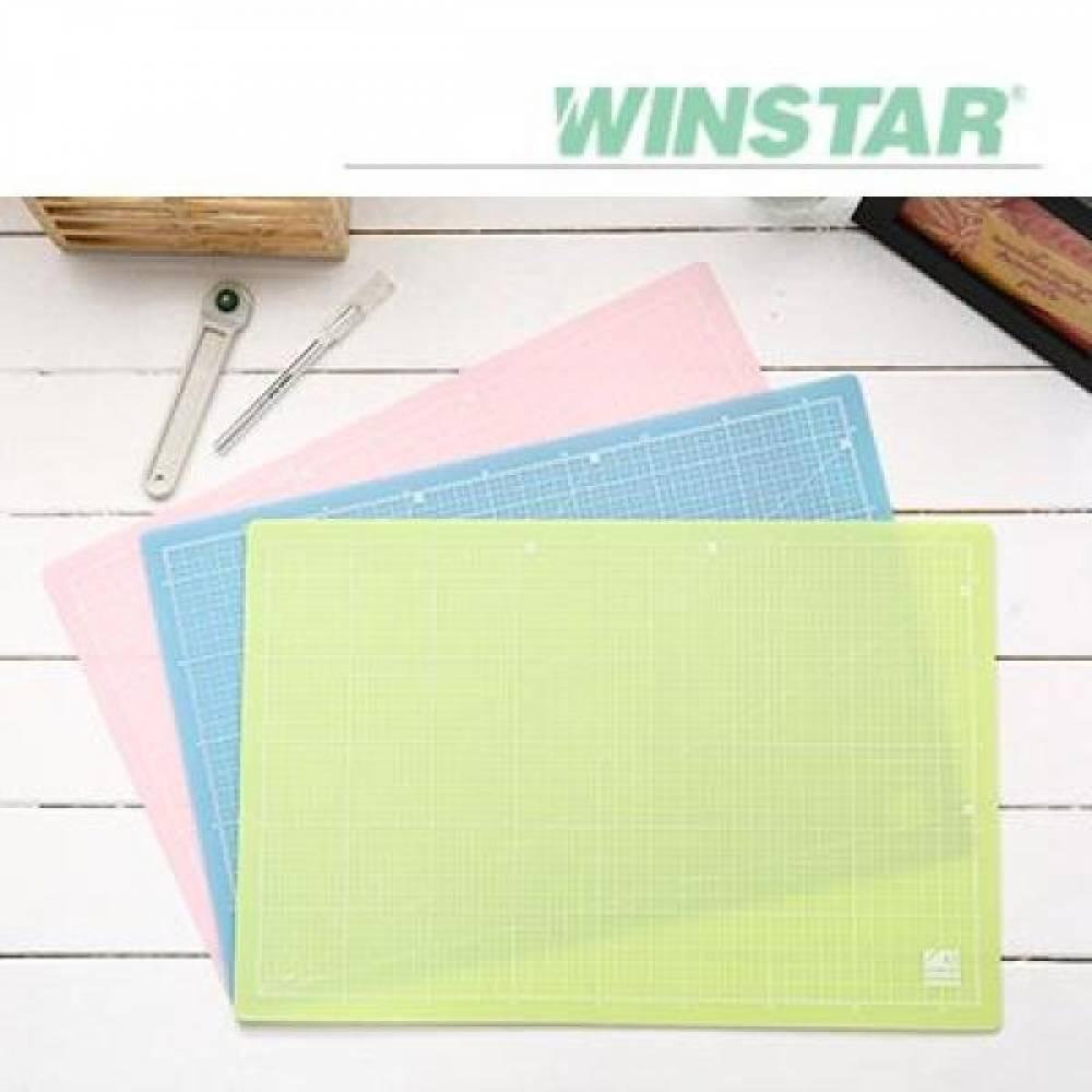 윈스타 PP 300X215 A4 데스크 커팅 매트 데스크매트/책상패드