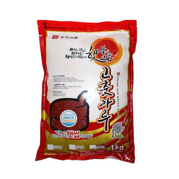 (무)(면)청양식품 고춧가루(중분)1kgX10개
