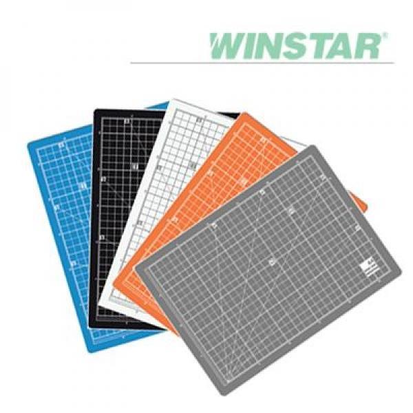 윈스타 칼라 450X300 A3 데스크 고무매트 데스크매트/책상패드