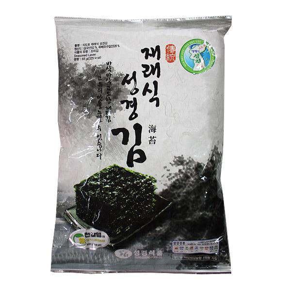(무)지도표 재래식 성경김(전장)60gX20개