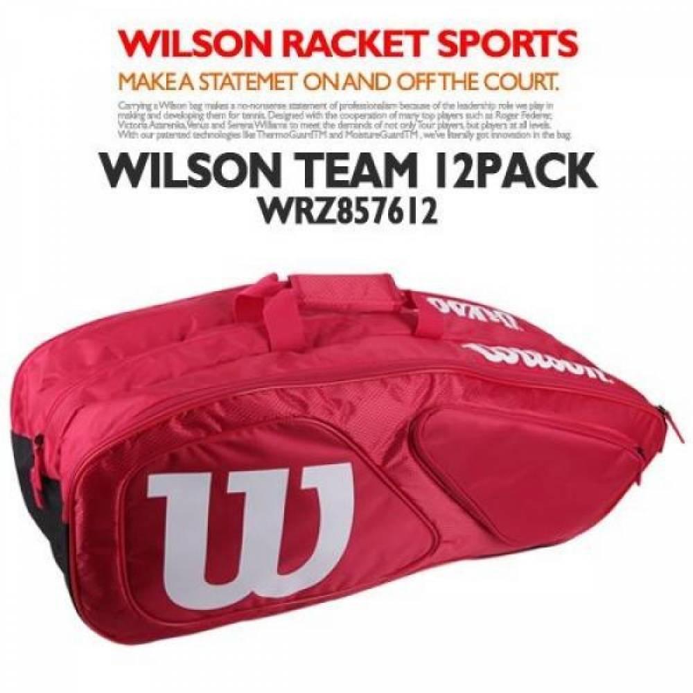 (윌슨) WRZ857612 팀2 12PK 가방 레드
